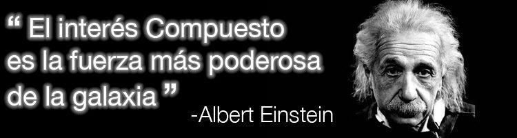 Einstein - interés compuesto